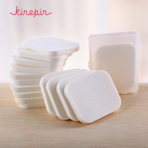 Набор плоских спонжей губок для макияжа, нанесения тонального крема 15 шт.