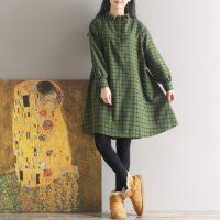 Осенние женские платья на Алиэкспресс - место 9 - фото 5