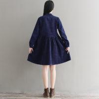 Осенние женские платья на Алиэкспресс - место 7 - фото 5