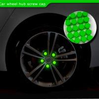 Колпачки на колёса авто, которые светятся в темноте