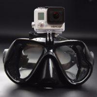 Маска для дайвинга с креплением для камеры GoPro