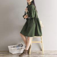 Осенние женские платья на Алиэкспресс - место 9 - фото 3