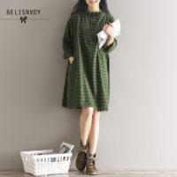 Осенние женские платья на Алиэкспресс - место 9 - фото 6