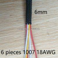 Нейлоновая оплетка для кабелей (разные размеры)