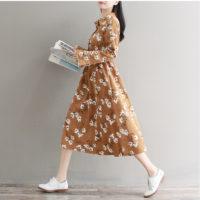 Осенние женские платья на Алиэкспресс - место 3 - фото 2