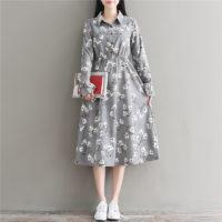 Осенние женские платья на Алиэкспресс - место 3 - фото 6