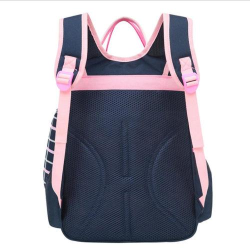 Ортопедический школьный рюкзак ранец с пеналом для девочки из водонепроницаемого нейлона