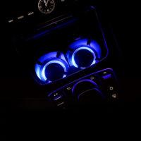 Подсветка для подстаканника в автомобилях