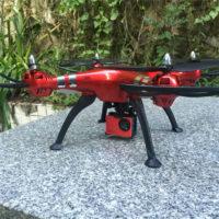 Радиоуправляемый дрон квадрокоптер SYMA серия X8 4К
