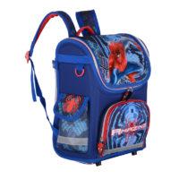 Школьный детский рюкзак с мешком для обуви для мальчиков с рисунками человека паука или машинок