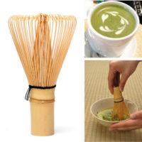 Бамбуковый венчик для взбивания чая матча