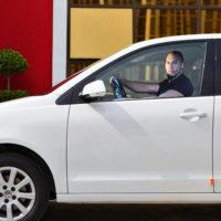 Наклейка на стекло авто с Вин Дизелем или Полом Уокером