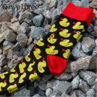 Мужские носки с утками
