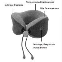 Электромассажер подушка для шеи  Xiaomi Mijia LF Neck Massage Pillow