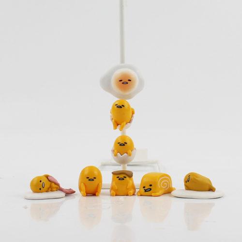 Набор из 8 магнитов на холодильник с Ленивым желтком Gudetama