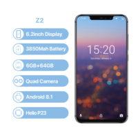 UMIDIGI Z2 Смартфон 64 ГБ  6,2″, Face ID, 16 Мп