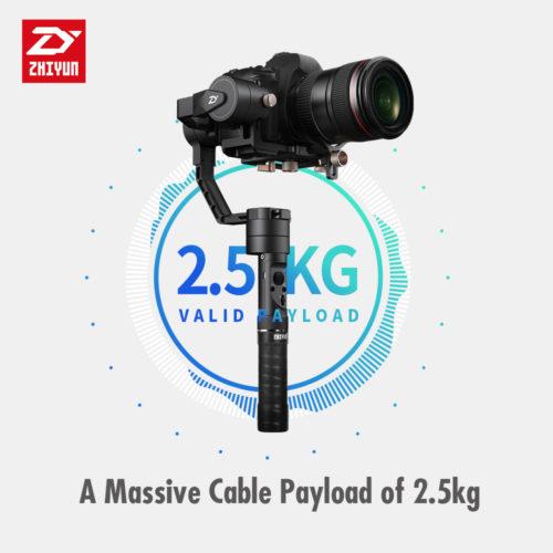 Zhiyun Crane Plus трехосевой электронный стабилизатор для камер