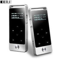 BENJIE S5 HiFi MP3 Металлический музыкальный плеер с сенсорным экраном, радио, электронной книгой