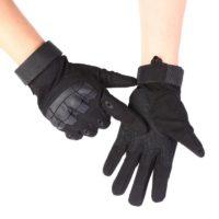 Сенсорные тактические перчатки с бронированными костяшками