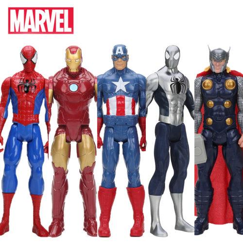 Игрушечные ПВХ фигурки персонажей 30 см вселенной Марвел (Marvel)