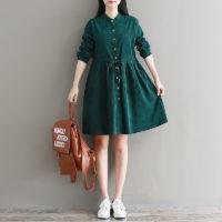 Осенние женские платья на Алиэкспресс - место 7 - фото 3