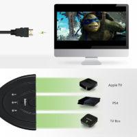 HDMI-свитч разветвитель на 3 входа