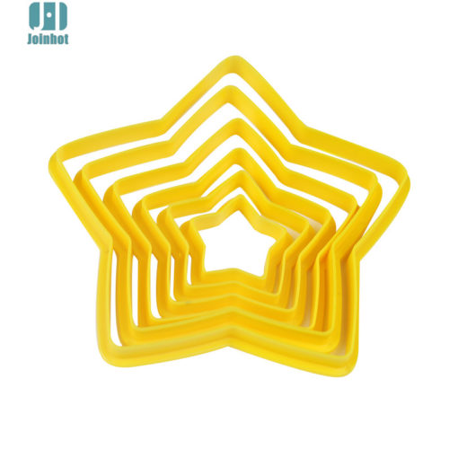 Набор форм для печенья Звезды 6 шт.
