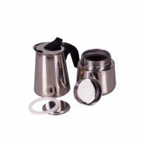 VETTA гейзерная кофеварка из нержавеющей стали с нейлоновой ручкой 200 мл.