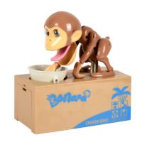 Интерактивная копилка в виде обезьяны