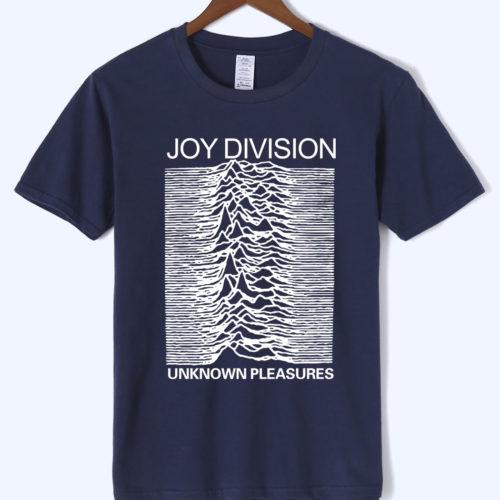 Мужская футболка с символикой рок-группы Joy Division (разные цвета)