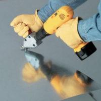 Ножницы по металлу с приводом от шуруповерта