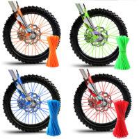 Накладки на спицы мотоциклов и велосипедов
