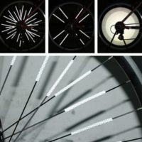 Светоотражатели накладки на спицы велосипеда 12 шт.