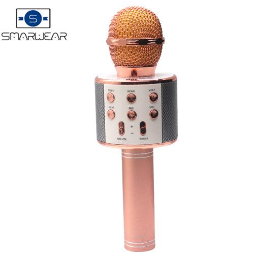 Беспроводной Bluetooth караоке-микрофон WS858 для смартфона