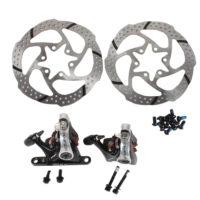 Механические тормоза flat mount на велосипед