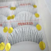 Накладные многоразовые ресницы на прозрачной леске-основе 10 пар