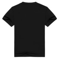 Мужская/женская черная хлопковая футболка с символикой рок-группы Guns N' Roses