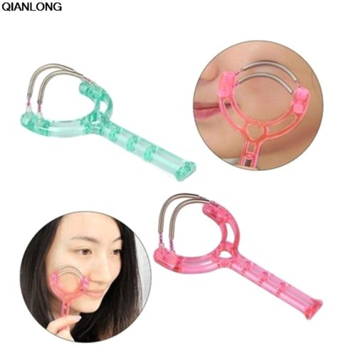Ручной эпилятор пружинка для удаления волос на лице