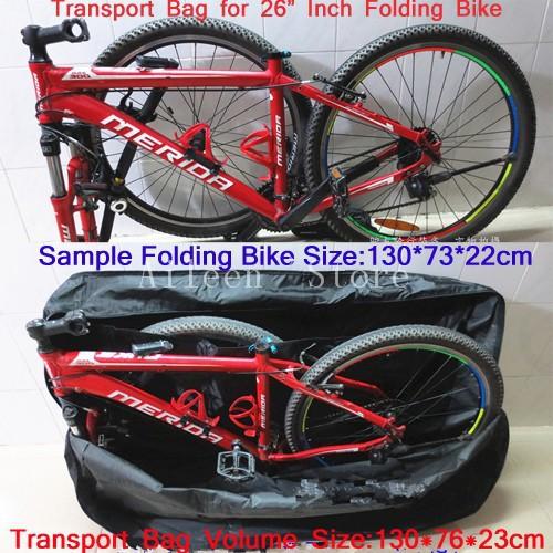 Чехол для перевозки/транспортировки велосипеда в поездах, самолетах