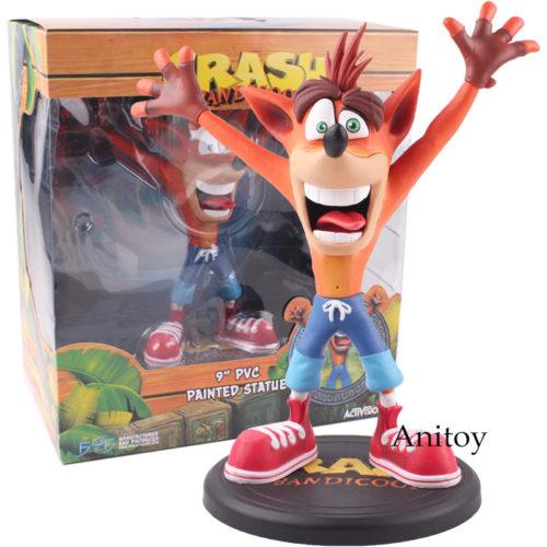 Игрушечная ПВХ фигурка Crash Bandicoot