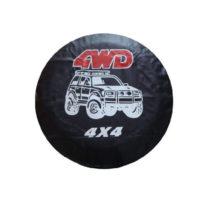 Универсальный чехол на запасное колесо 4WD 4×4