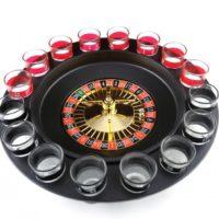 Игра русская рулетка с рюмками