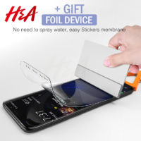 Гидрогелевая мягкая защитная пленка для смартфонов Samsung Galaxy