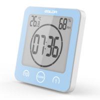 Водонепроницаемый цифровой таймер часы для ванной комнаты