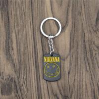 Брелок / подвеска на цепочке Nirvana