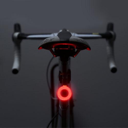 Светодиодный задний фонарь с разными изображениями на велосипед