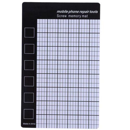 Магнитный коврик с разметкой для ремонта плат, телефонов