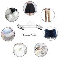 Металлические вешалки 30 см для брюк, юбок 10 шт.