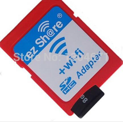 Wi-Fi адаптер в фотоаппарат