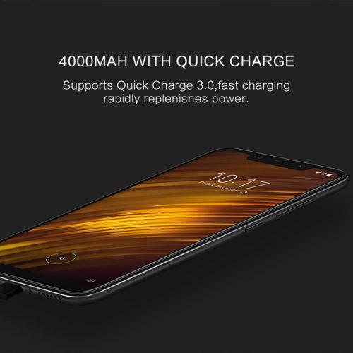Смартфон Xiaomi POCOPHONE F1 64 ГБ 4000 мАч type-C